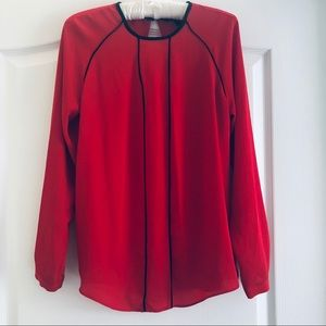 Banana Republic red blouse XS
